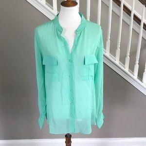 Brand New! Erin Fetherston Silk Blouse Shirt
